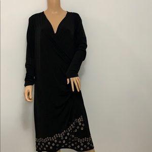 NWOT Michael Kors woman's Black Dress.